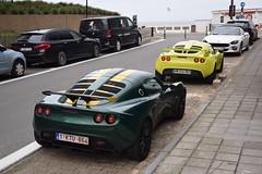 Lotus Exige S2 (D's Carspotting) Tags: lotus exige s2 belgium knokke green 20171008 1ktu864 zoute grand prix 2017 zgp17 zgp2017