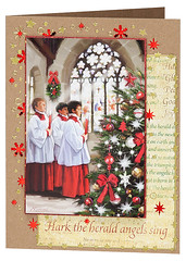 Craft Creations - Charlotte473 (Craft Creations Ltd) Tags: choir choirboys christmas greetingcard craftcreations handmade cardmaking cards craft papercraft