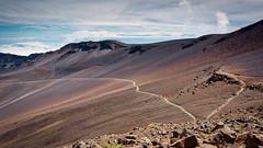 Haleakalā Crater Trail (Bob.Z) Tags: kula hawaii unitedstates us usa maui haleakala crater volcano treking hiking trail mountain