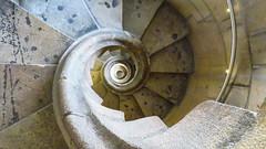 Spiral stair (Greenstone Girl) Tags: barcelona sagrada familia spain buildings antoni gaudi