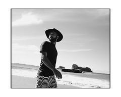 Hell was boring. (fabien_voileau) Tags: newzealand coromendel bw beach beachlife