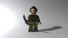 Custom LEGO DC: Ra's Al Ghul (Caruana Customs) Tags: batman arkham city ras al ghul sword dc comics custom lego minifigure assassins league