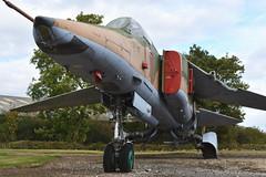 "Mikoyan-Gurevich MiG-27K ""Flogger"" (61912507006 ""71"") (Bri_J) Tags: newarkairmuseum newarkontrent nottinghamshire uk nam airmuseum aviationmuseum nikon d7500 aircraft jet mikoyangurevich mig27k ""flogger"" 61912507006 71 strikeaircraft sovietairforce"