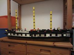 IMG_1250 (argo naut) Tags: lego 74 gun third rate ship line historical marine napoleonic era british empire model history bricks 32 frigate vessel rigging trafalgar waterloo