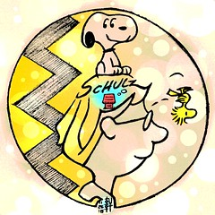 Daily #Art - Day 11-26-18 (hinxlinx) Tags: charles schulz snoopy woodstock peanuts dog house charlie brown
