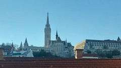 Matthias Church and Castle Hill (RobW_) Tags: window view matthias church castle hill artotel budapest hungary amaviola danube 16nov2018 november 2018