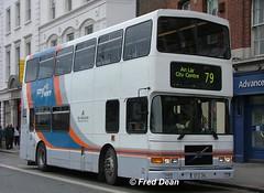 Dublin Bus RV346 (97D346). (Fred Dean Jnr) Tags: april2005 dublin dublinbus busathacliath cityswift volvo olympian alexander r rv346 97d346 dublinbusroute79 astonquaydublin p564swc