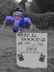 ColourSplash Worzel Gummidge Amateur Dramatics Cottenham Nov 2018 (Uncle Money UK) Tags: coloursplash worzelgummidge amateurdramatics scarecrow cottenham november 2018 mobilephone cellphone iphonese