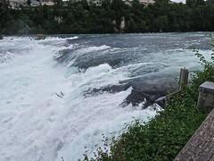les chutes du Rhin (Micheline Canal) Tags: allemagne bavière maison couleur église château paysage landscape water chutedurhin