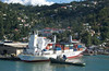 CLIPPER STREAM loading bananas Castries St. Lucia