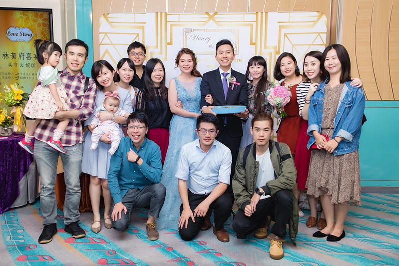 [婚攝] 奕亨 & 婉琪 漢來大飯店巨蛋會館 午宴 |婚禮紀錄