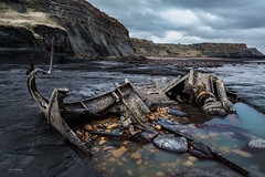 Admiral Von Tromp Shipwreck (Geoff Moore UK) Tags: ocean water seasalt rocks wrecks shipwreck disater accident martimeaccident recenthistory disaster maritimeaccident death lossoflife sadness mystery saltwickbay