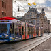 Amsterdam Sky Radio Christmas tram 2058