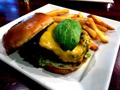 Burger at Biersch (Bill in DC) Tags: food restaurants md maryland 2016 rockville gordonbiersch