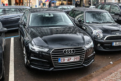 Belgium - Audi A6 Sedan C7 (PrincepsLS) Tags: belgium belgian diplomatic license plate germany düsseldorf spotting audi a6 sedan c7