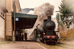 The train (f_foschi.) Tags: treno vapore toscana tuscany train steam ferrovie francesco foschi