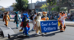 Coast to Coast Critters (Non Paratus) Tags: 41st doodahparade parade 2018 pasadena people furries costumes