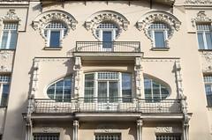 DSC_8672 (mkk3a) Tags: albertaiela architektura latvia latvija riga ryga rīga secesja łotwa