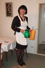 Maid Marie-Christine (Marie-Christine.TV) Tags: feminine transvestite lady mariechristine french maid hausmädchen dienstmädchen tgirl tgurl onduty hausfrau apron schürze dienstmagd sissymaid sissy wife hausdame elegant uniform duty zofe servierdame