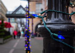 bastion square lights (kevin.boyd) Tags: bastion square victoria bc canada christmas lights bokeh depth field
