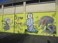 guerra agli umani (en-ri) Tags: ordea gelo crew gelos reptiles robot grattacielo nero rosso bianco grigio torino wall muro graffiti writing murarte 2018 donna woman
