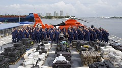 Coast Guard offloads 18.5 tons of cocaine in Port Everglades (Coast Guard News) Tags: coastguard cutterjames drugoffload florida porteverglades lawenforcement unitedstates us