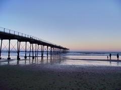 Saltburn Pier (johncovercox) Tags: seascape coast england sea pier sand autumn seaside winter sunset saltburnpier saltburn