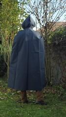 VinylCape-blue-4 (Umhaenge2010) Tags: cape umhang cloak pèlerine pelerin peleryna raincape capeimperméable regencape