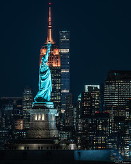 The Empire State, New York (SNeequaye) Tags: new york nyc usa us nikon nikond750 d750 tamron2470mm nikon1635mm tamron70200mm laowa laowa12mm sigma35mm tamron150600mm manhattan lowermanhattan oneworldtradecentre manhattanbridge brooklynbridge soho chelsea midtown uptown empirestatebuilding chryslerbuilding flatironbuilding avenue skyline reflection rockefellercenter hudsonriver brooklyn bronx queens harlem sky view clouds architectural newjersey jerseycity exchangeplace worldsbestskyline midtownskyline hudsonyards skyscraper city building water architecture statenislandferry statueofliberty libertyisland 432parkavenue empirestate