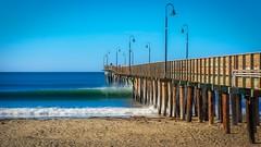 Cayucos Pier in  the Morning No 8 (CDay DaytimeStudios w /1 Million views) Tags: beach ca california cayucos cayucousca coastline highway1 landscape morning ocean pacificcoast pacificcoasthighway pacificocean pier water