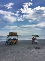 Praia da Ponta do Papagaio - Palhoça, SC, Brasil  #brazil #santacatarina #beach (fernandohmsilva) Tags: brazil santacatarina beach