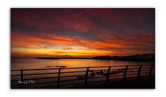 Reminiscing (RonnieLMills 6 Million Views. Thank You All :)) Tags: sunrise dawn early morning vibrant colours donaghadee harbour lighthouse county down northern ireland