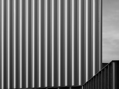 Pinched 2 (☁ ▅▒░☼‿☼░▒▅ ☁) Tags: olympus omd em5 nottingham black white bw architecture abstract md 3570mm 135 macro minolta