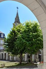 Centre Jules Chevalier (balese13) Tags: basilique 1855mm nikon sacrécoeur juleschevalier hôtellerie arbre issoudun indre centre d5000 cloche