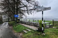 Satnav Warning (Chas Pope 朴才思) Tags: 2018 england lakedistrict thelakes fells iphone mountains signpost satnav