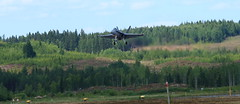 FinAF 100 years_2018_06_17_0413 (FarmerJohnn) Tags: ilmavoimat finnishairforce100years finnishairforce midnighthawks 100v ilmavoimat100v airshow ilmailunäytös juhlavuosi tikkakoski hawk trainer jet hawkmk66andmk51 boeingfa18chornet hornet saabgripen saab gripen draken saabdragen saabsafir glostergauntlet fougamagister fouga magisten safir valmetl70vinka aw119kekoala nh90 pilatuspc12 gateslearjet35as casac295m vinka pilot lentäjä 17thjune2018 blue sky sininen taivas show air jyväskyläairport finland canon canoneos5dmarkiii canonef70200l40isusm juhanianttonen