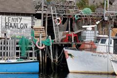 Lenny Hanlon's Boat (peterkelly) Tags: digital canon 6d northamerica canada newfoundlandlabrador stjohns quidividi boats boat ship dock fishing water harbor harbour lifepreserver wharf nets floats lobstertraps