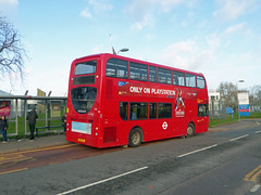 GAL E264 - SN62DFL - OSR - STADIUM ROAD WOOLWICH COMMON - SAT 8TH DEC 2018 (Bexleybus) Tags: woolwich common stadium road queen elizabeth hospital se18 go ahead goahead london adl dennis enviro 400 tfl route 291 e264 sn62dfl