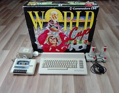 C64 World Cup Football Bundle (mingo57) Tags: commodore retro retrocomputing commodore64 c64 world cup football bundle