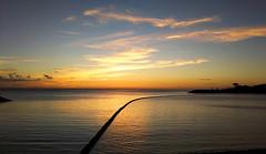 Another Sunset Set (Give-on) Tags: asia japan okinawa chatan sunset ocean sunsetbeach net sky cloud