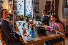 Julgröt (jpergunnar) Tags: timothy cassandra jonathan family christmas holiday peoplefamily