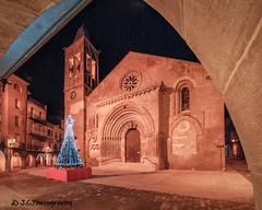 Santa Maria d'Agramunt (Jordi Castellà) Tags: agramunt urgell santamaria esglesia church romanica romanesque pano panorama panoview