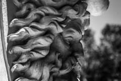 Mask (Jose Rahona) Tags: mascara mask estatuta monumento monument arboles trees blancoynegro blackandwhite bw monochrome