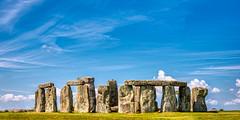 A Bright Day on Salisbury Plain (wawrus) Tags: stonehenge stone henge salisbury wiltshire england unitedkingdom uk neolithic historic nikon d800e zeiss planart1450 zf2 general