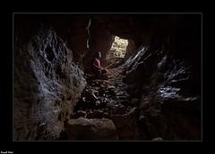 Daniel et Fidji dans une des Grottes Mines de la Barme - Chenecey Buillon (francky25) Tags: daniel et fidji dans une des grottes mines de la barme chenecey buillon franchecomté doubs monde souterrain