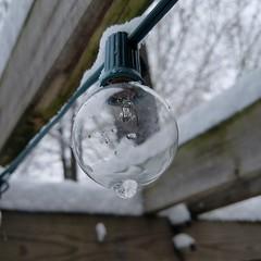 bulb (army.arch) Tags: snow bulb cafe light porch