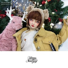 IMG_1206 (Mimo_Marina) Tags: switch switchbjd style sd sewing handmade bjd bjddoll bjdboy boy bear doll redhood hat