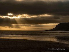 Sunset over Caswell Bay 2019 01 25 #10 (Gareth Lovering Photography 5,000,061) Tags: sunset sun sunny sunshine caswell gowercoast gower swansea wales seaside landscape beach walescostalpath olympus penf garethloveringphotography
