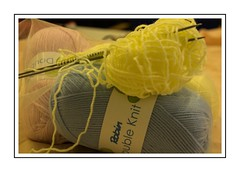 Knit and Natter time (Audrey A Jackson) Tags: canon60d knitting needles wool colour hobby advertising relaxing stilllife