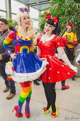489 (fangirlconfessions) Tags: eccc eccc2018 emeraldcitycomiccon emeraldcitycomiccon2018 minimouse rainbowbrite seattle washingtonstateconventioncenter comiccon comics cosplay costumeplay latex eccc2018day4